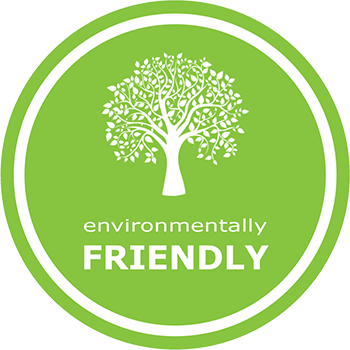 All villas are environmentally friendly.